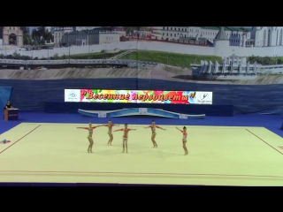 Групповые 2006-2007 Динамо Весенние Первоцветы 2016 г.Казань