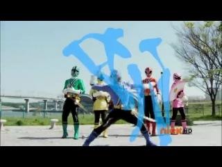 могучие рейнджеры самураи 2 сезон 2 серия