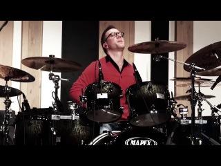 Szilard Banai LIVE at the PAISTE day Stars on one cymbal (Фрагмент)