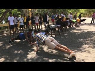 Street Workout in Timor Leste   E-Dinar Coin