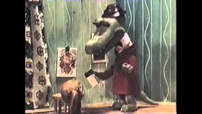 Krokodilas Gena Kūlverstukas eina į mokyklą