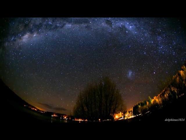 Lake Tekapo Starry Night Sky Timelapse