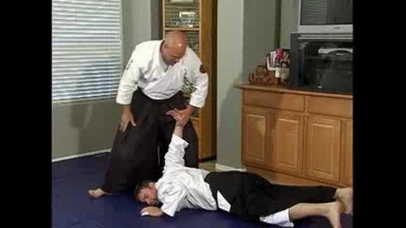 Aikido Basic Techniques : Ushiro Tekubi Kotegaeshi Pin
