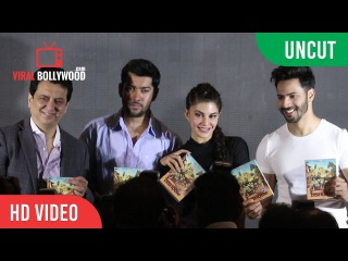 UNCUT - Success of the Dishoom production in Abu Dhabi | Rohit, Varun Dhawan & Jacqueline Fernandez