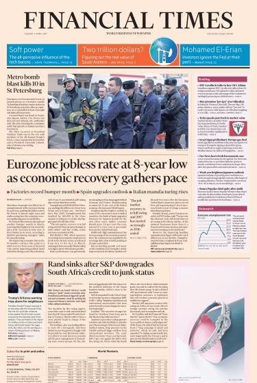 Financial Times USA - 4 April 2017