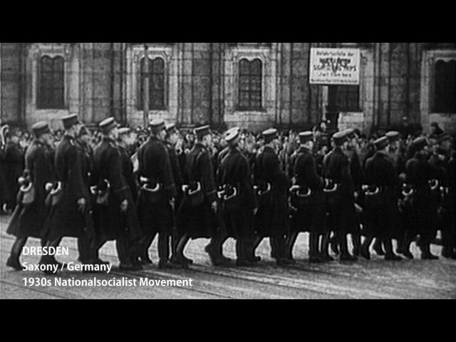 Історія Дрездена 1930і під звуки клавіш Комунізм та Національний Соціалізм Дегенаративна Штука