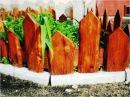 Ландшафтный дизайн. Декоративные ограждения на садовом участке / Decorative fences
