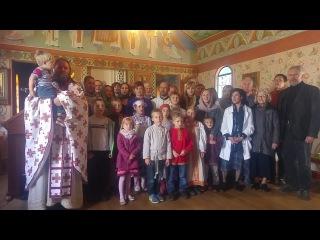 Поздравление со Светлой Пасхой от воспитанников Воскресных школ