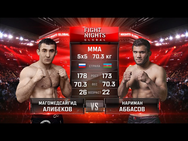 Магомедсайгид Алибеков vs Нариман Аббасов Magomedsaygid Alibekov vs Nariman Abbasov