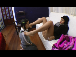 Scat real fear with top dominatrix flavia greika and slave
