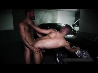 EricVideosDylanCox pounds Jimmy in a parking lot #gay #porn #bareback #public