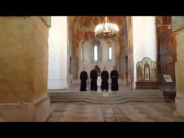Russian Orthodox Chant Let my prayer arise.