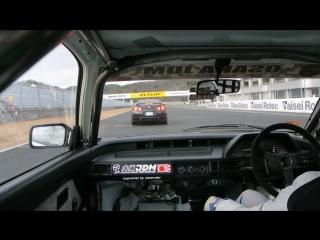 Honda Civic AH vs Nissan GTR (R35) - Tsukuba Circuit (Full)