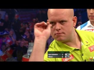 Michael van Gerwen vs Gerwyn Price (PDC World Series of Darts Finals 2016 / Round 2)