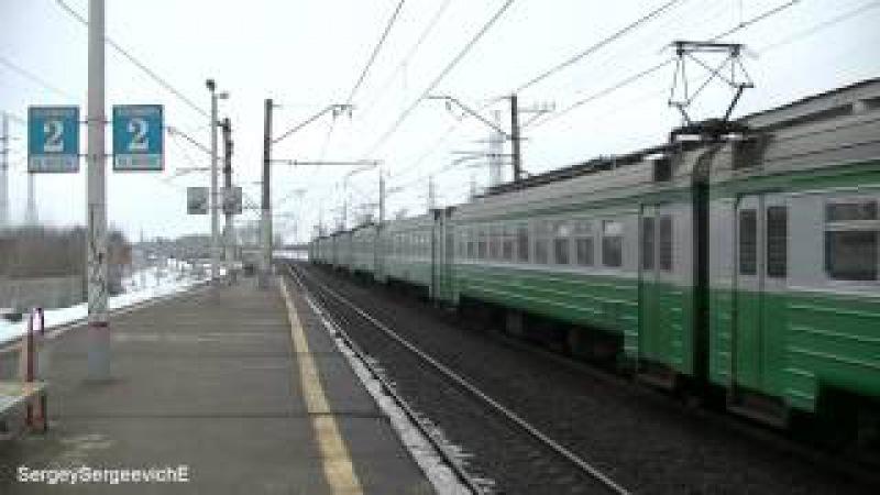 Электропоезда ЭД4М-0213, ЭД4МК-0075, ЭР2Т-7125