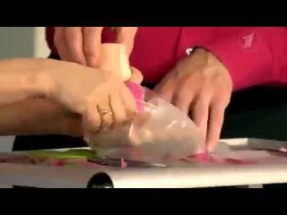 Японские носочки для педикюра в программе 'Жить здорово' с Еленой Малышевой