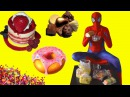 SPIDERMAN ate a lot of SWEETS and poisoned farts