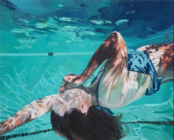 underwater paintings artwork - 800×642