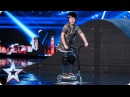 Charley Dyson scoots through to the next round | Auditions Week 2 | Britain's Got Talent 2017