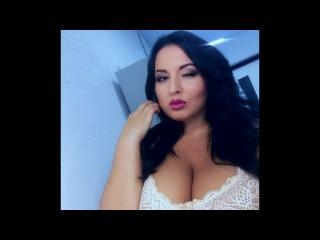 Rima Pendgieva  MODEL plus size нижнее белье Рима Пенджиева