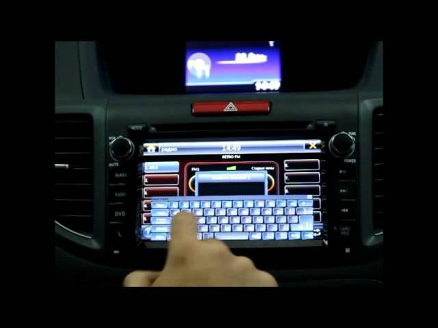 штатная автомагнитола honda cr v Honda CRV 2012 Redpower Carpad Android