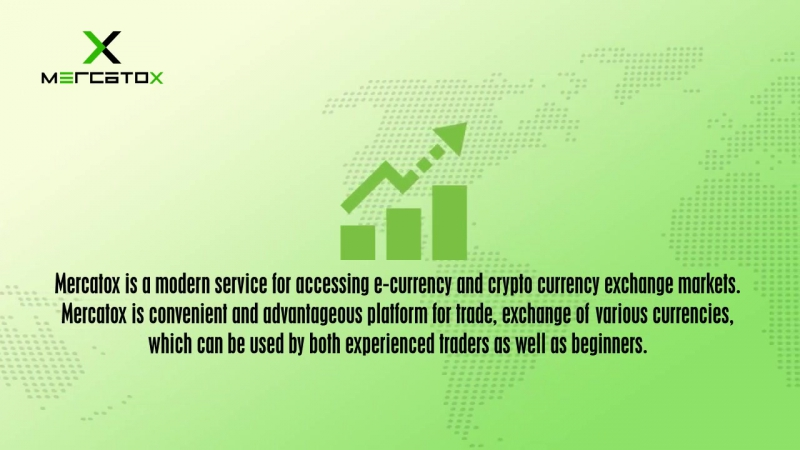 MERCATOX is a modern service for accessing e currency and cryptocurrency exchange markets