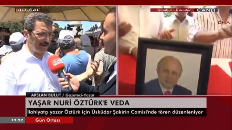 Yaşar Nuri Öztürk Cenaze Namazı 24.06.2016 Şakirin Camii