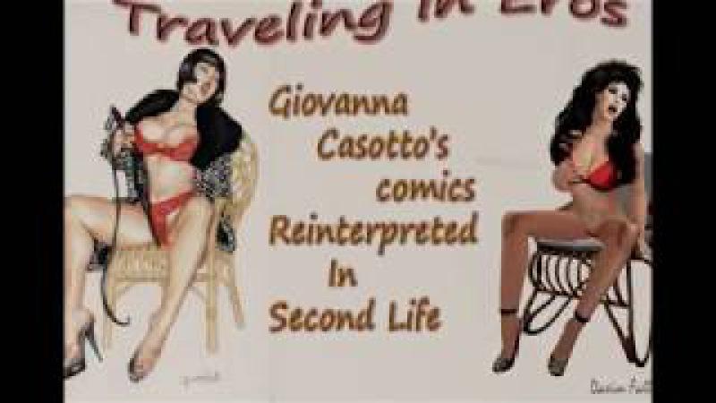 Viaggio nell'Eros Giovanna Casotto reinterpreted in Second Life June 2016
