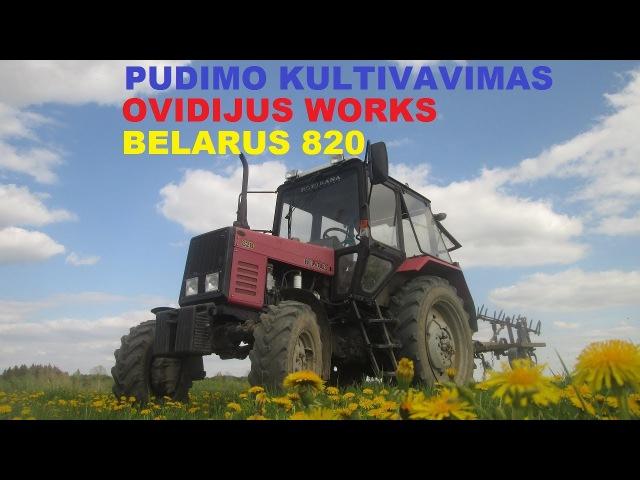 BELARUS 820 Pudimo Kultivavimas GoPro FUL HD