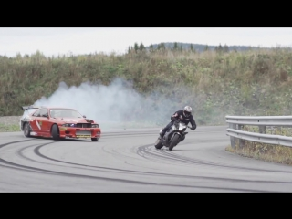 StuntFreaksTeam - Car vs Bike (HD)