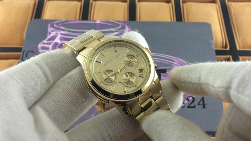 Michael Kors Mid Sized Gold Ton