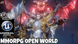 SKY GATE MMORPG OPEN WORLD UNREAL ENGINE 4 ANDROIDIOS
