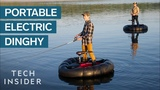 Electric Rubber Dinghy Is A Fishermans Dream