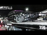 Da Kid colliding with Cody Jones turbo coupe at No Prep Mayhem