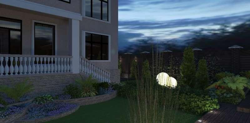 Идея ландшафтного дизайна. Сад в современном стиле, изображение №4