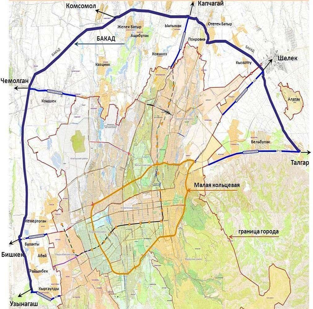 Проект БАКАДа начали с возведения строительного городка для