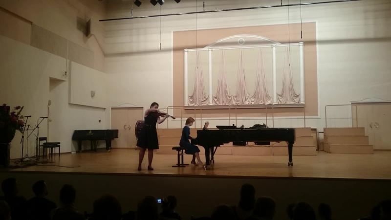 Винявский Романс Отчетный концерт Гнесинка 25 03 2018г