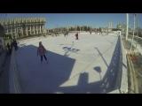 #Каток на площади Ленина, #зима_продолжается в Туле. #GOPR0 #Губернский_каток #Тула