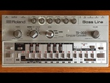 Learn how to program and use a Roland TB 303 or TB 03 Bass Line Basics