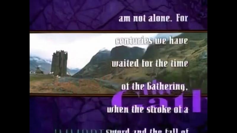 заставка сериала горец( Highlander)1 сезон