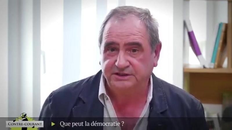 Contre Courant Que peut la démocratie Le débat Badiou Rosanvallon