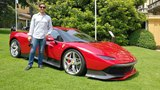 This is the 4.0M Ferrari SP38 Deborah! WORLD DEBUT + Engine Sound Sub ENG