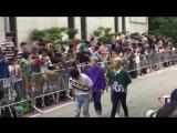FANCAM 13.07.18 A.C.E @ Arriving at Music Bank