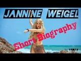 Jannine Weigel - Biography A German-Thai Singer Cum Actress