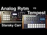 Analog Rytm vs Tempest Sound design comparison and demo