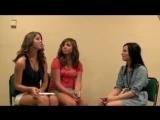 Katie &amp Karleigh Vlog Demi Lovato Interview