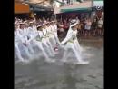 Парад моряков в Таиланде