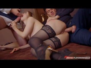 Stella Cox - After hours slut [Anal, DP, Heels, Stockings, Big Tits]