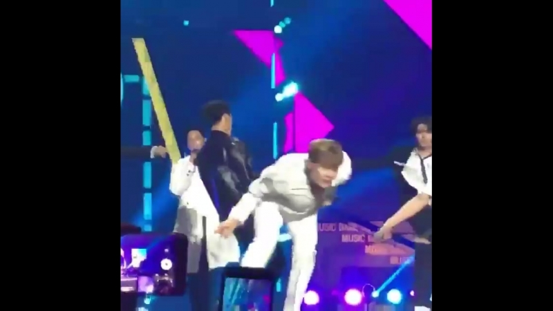 FANCAM — 23.03.18 B.A.P - That's My Jam @ KBS «Music Bank in Chile»