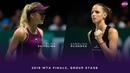 Elina Svitolina vs. Karolina Pliskova | 2018 WTA Finals Singapore Round Robin | WTA Highlights